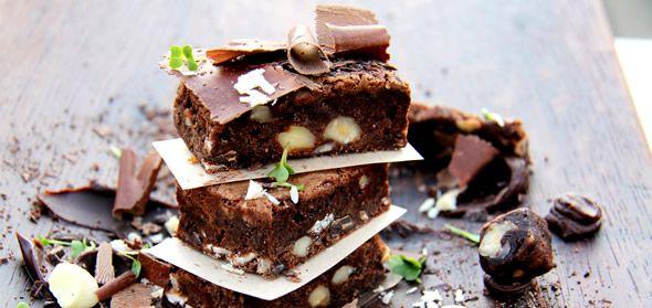Recipe: Chocolate Brownies from The Twelve Apostles Hotel & Spa. #recipe #cooking #brownies