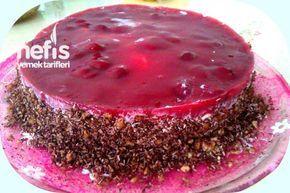 Nefis 10 Dakika Pastası (Vişneli Soğuk Pasta)