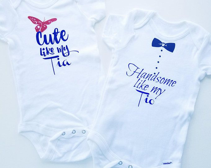 Cute Like My Tia Onesie, Handsome Like My Tio Onesie, Tia toddler tshirt, tio toddler tshirt, Spanish Tshirts