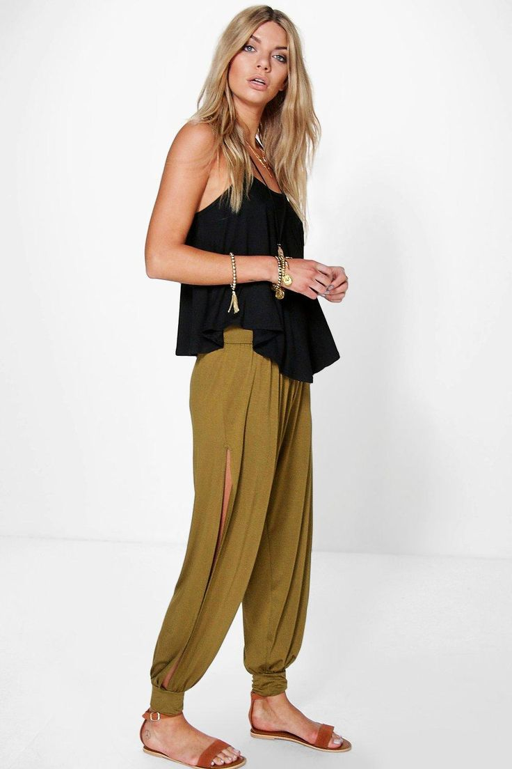 Trousers are a more sophisticated alternative to skinnies Trousers take on a realxed silhouette for the new season, with sports tailoring setting the trends and the wide leg one to watch. Pick printed palazzo pants for a dramatic day time look and tone down with a basic tee, or go for androgynous appeal in tapered man pants and wear with worn-in trainers for a trend-led twist.