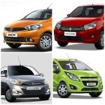 Tata Zica vs Maruti Suzuki Celerio vs Hyundai i10 vs Chevrolet Beat – [Spec Comparo]