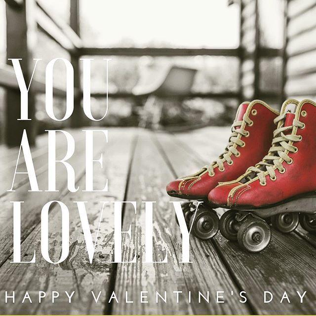 #youarelovely #valentines #skate #rollerderby #derbylove