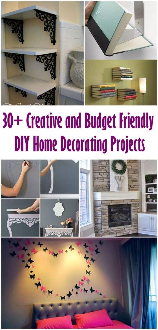 Budget Friendly Diy Home Decorating Ideas Tutorials 2017: 4863 Best Creative Ideas Images On Pinterest
