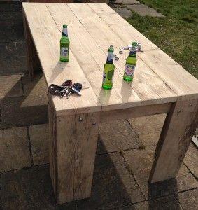 Scaffolding table