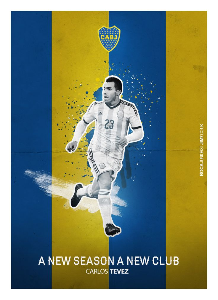 Carlos #Tevez - Boca Juniors - ❶⓿ #ANewSeason #ANewClub