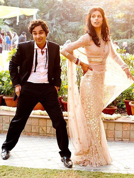 Raj Koothrapali gets married in real life - Kunal Nayyar & Neha Kapur