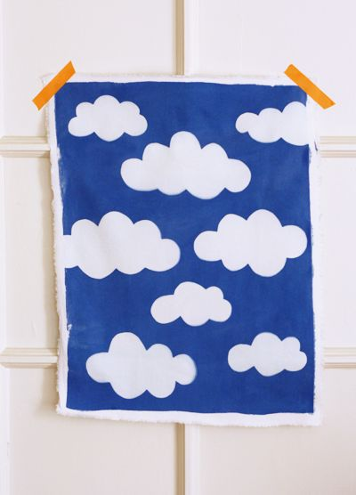 Print your own fabric with photo-sensitive dye. Fun!: Orange, Idea, Craft, Photo Sensitive Dye, Art, Fabrics, Diy