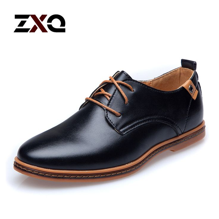 2015 de cuero casuales hombres zapatos moda hombre pisos punta redonda cómoda oficina Dress hombres zapatos en Pisos para hombres de Calzado en AliExpress.com | Alibaba Group