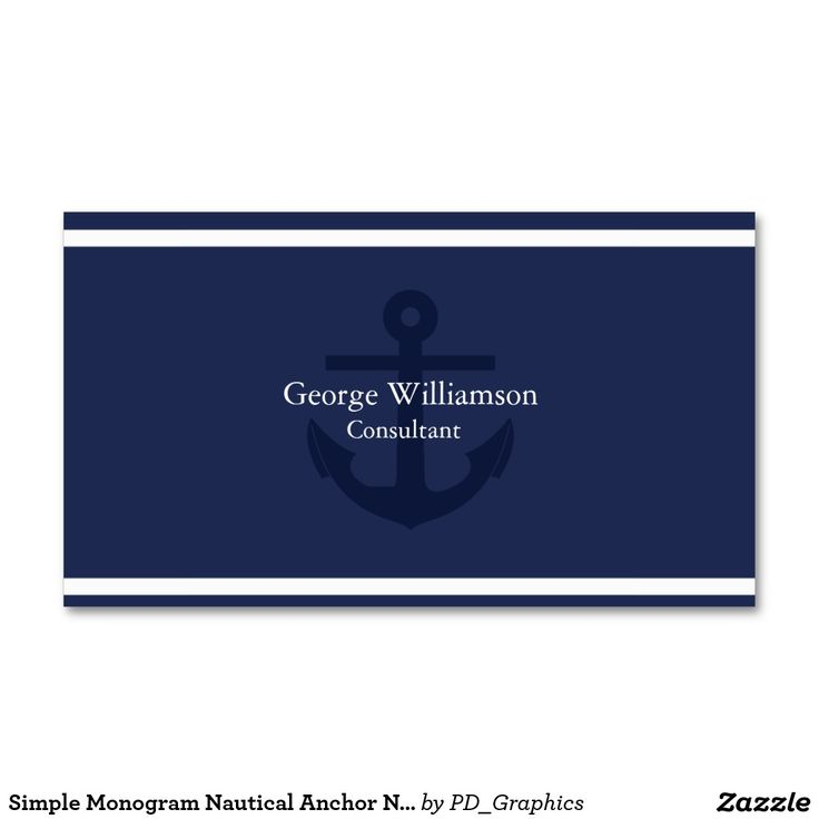 109 best Nautical Business Cards images on Pinterest   Business ...