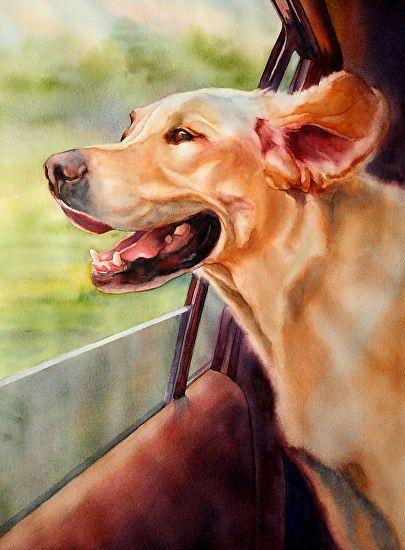 Best Friend Watercolor Portraits by MarySue Krueger