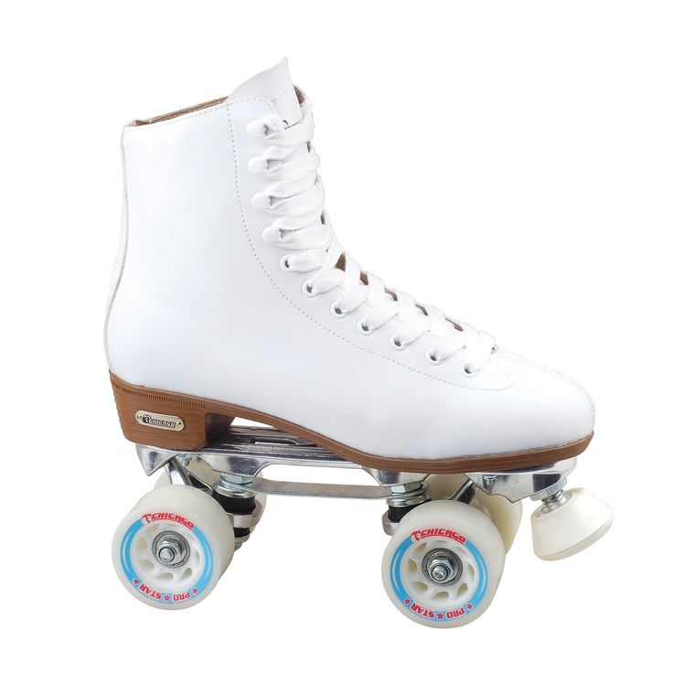 Chicago Skates Women's Deluxe Lined Rink Skate | Overstock.com Shopping - Big Discounts on Chicago Skates Roller Skating