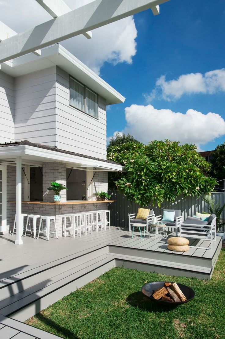 """Cladding crazy"" is how Lana from Three Birds Renovations describes the Northmead project. Scyon cladding was used both indoors and outdoors to refresh this classic Australian home."
