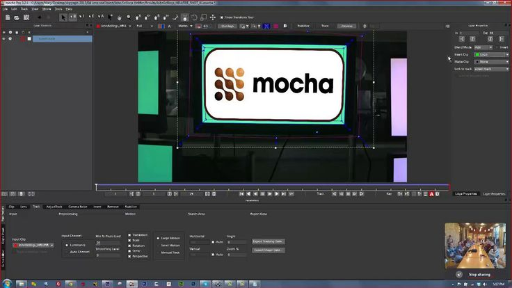 Mocha AE Training for Minnesota After Effects User Group on Vimeo