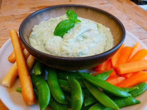 Pesto & Cannellini Bean Hummus