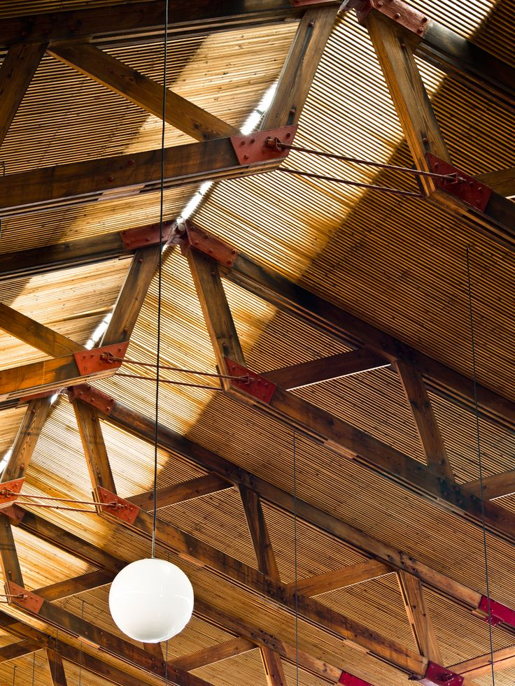 Best 25 wood structure ideas on pinterest for Buy roof trusses