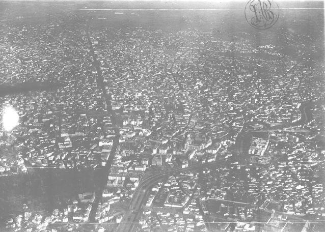 Vedere generală a Capitalei 1924
