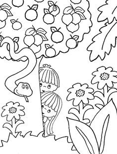 Bible stories Coloring pages and