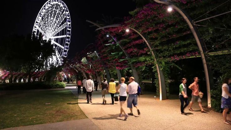 Brisbane Southbank wheel timelapse comprising of 448 photos taken over a 1hr period #timelapse #brisbane #australia #southbank #queensland #brisbanewheel