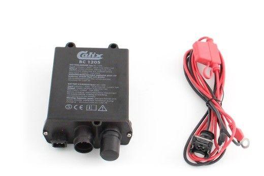 Schéma zapojení systému předehřevu motorů Calix v nákladních automobilech.