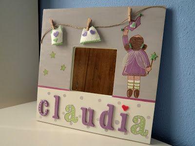 Espejito para claudia cuadros y espejos infantiles by for Espejos infantiles