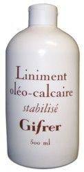 GIFRER LINIMENT OLEO CALCAIRE 500ML - Composed only of organic olive oil and limewater