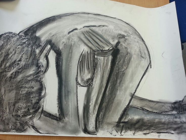 Life drawing quick sketches