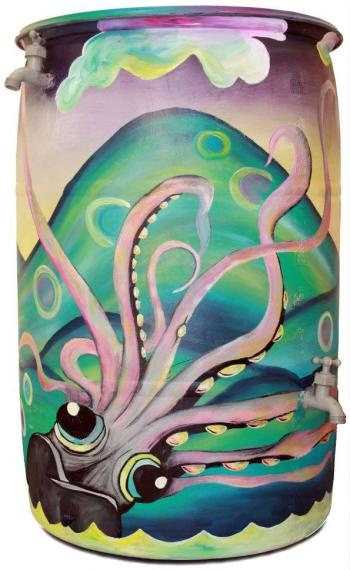 trash & rain barrel art | col. 4