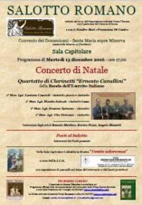 Lazio: #Roma #Salotto #Romano offre il concerto di Natale per soli clarinetti (link: http://ift.tt/2h9n2VQ )