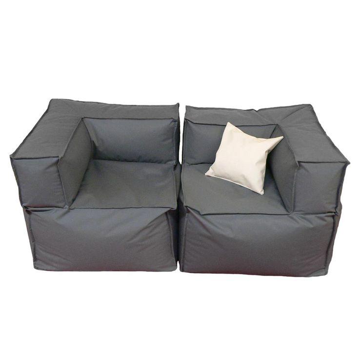 Sitzecke Outdoor 600L (mit Bildern)   Sitzsack sofa ...