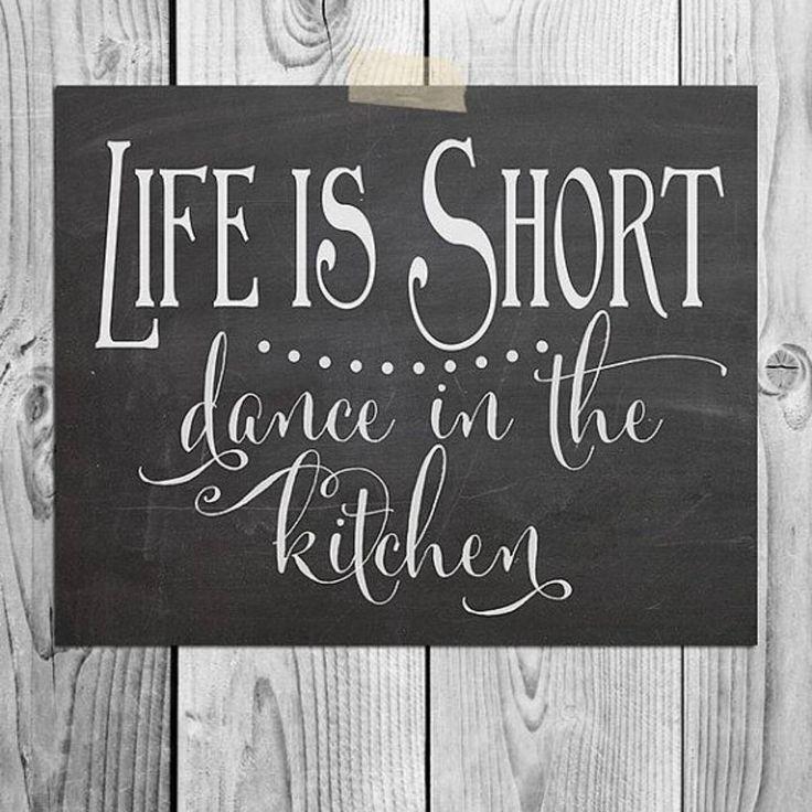 Kitchen Chalkboard Quotes: Best 25+ Kitchen Sayings Ideas On Pinterest