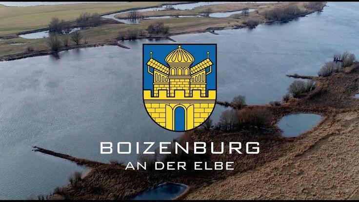 BOIZENBURG AN DER ELBE VON OBEN - LUFTPORTRAIT 4K