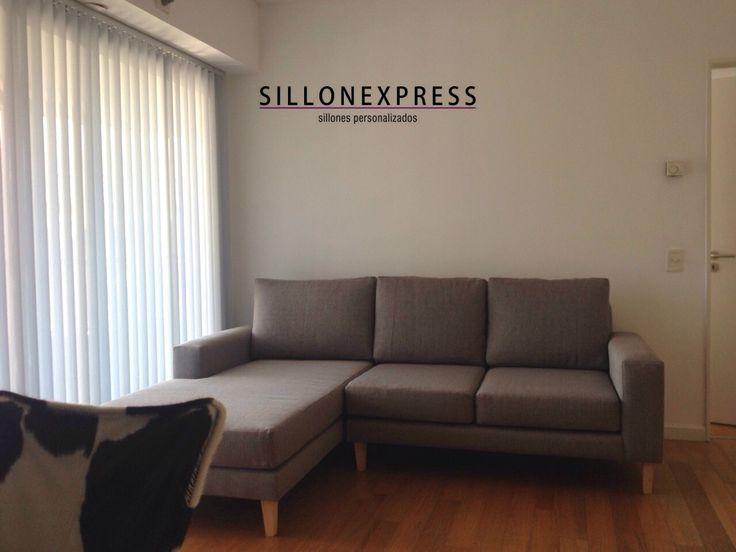 Esquinero Modelo Milano en Sillonexpress www.sillonexpress.com.ar