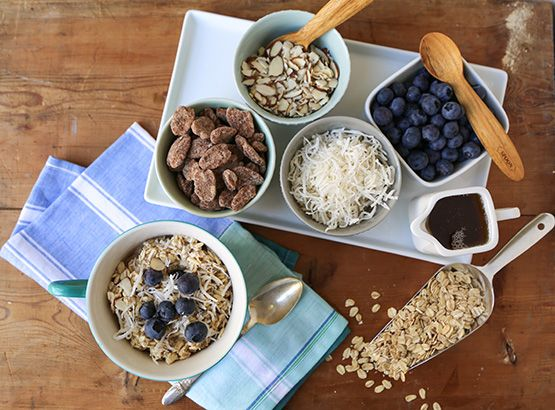 Cold oatmeal for breakfast?  It may not sound appetizing, but