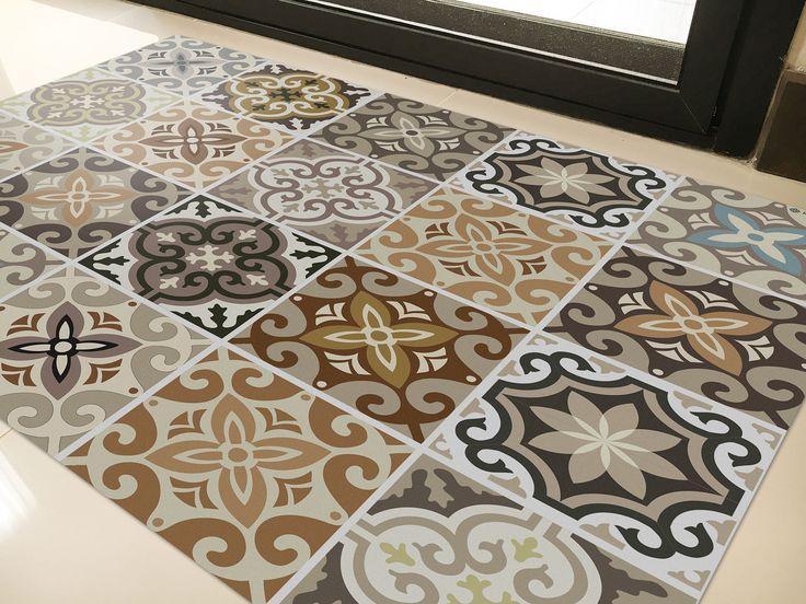 72 best vinyl rugs by kerendenis.com images on pinterest