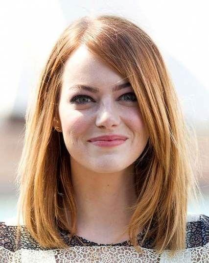 26+ Trendy Haircut Straight Hair Medium Emma Stone