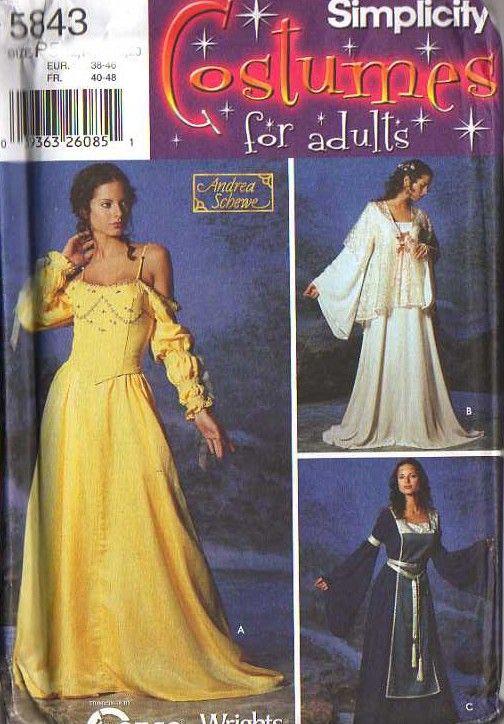 MOMSPatterns Vintage Sewing Patterns - Simplicity 5843 0603 ...
