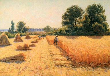 The Harvest (1895), by Edwin Evans.