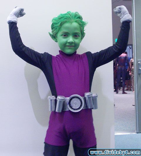cute little Beast Boy