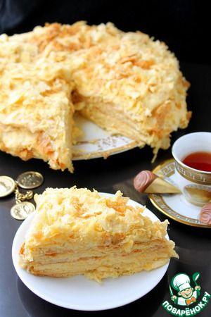 """Персиковый крем для торта """"Наполеон"""""""