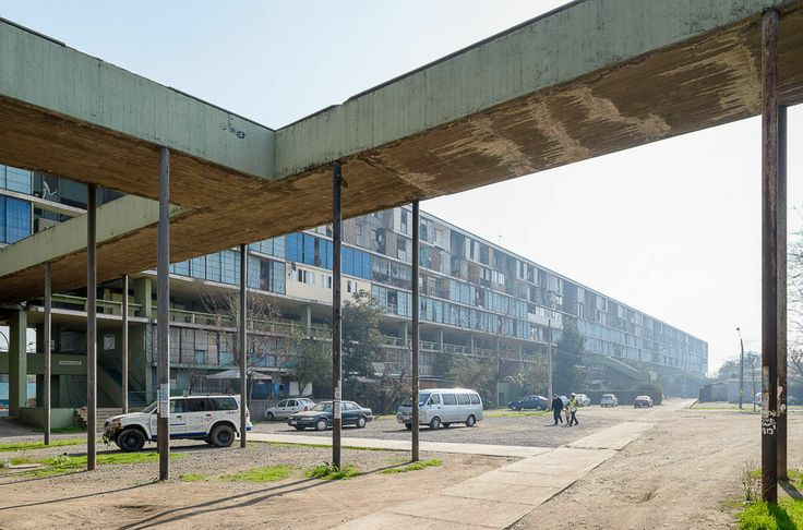 unidad vecinal portales. Santiago de Chile