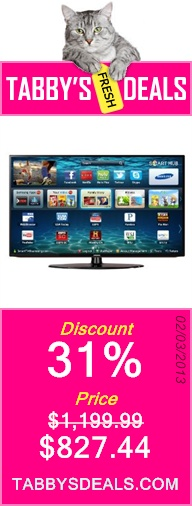 Samsung UN50EH5300 50-Inch 1080p 60Hz LED HDTV (Black) $827.44 ...