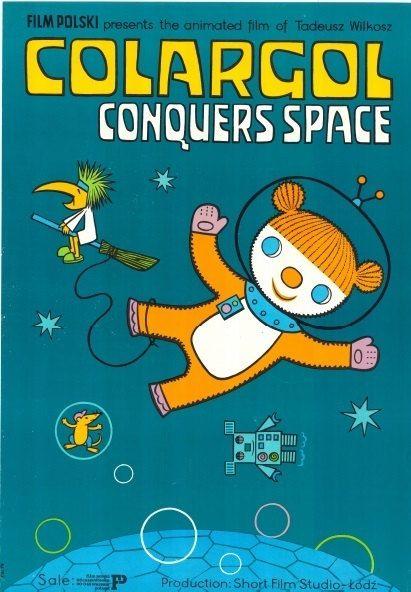 Colargol ; Barnaby ; Jeremy the Bear  cartoon- Children Room Poster Size: 26…