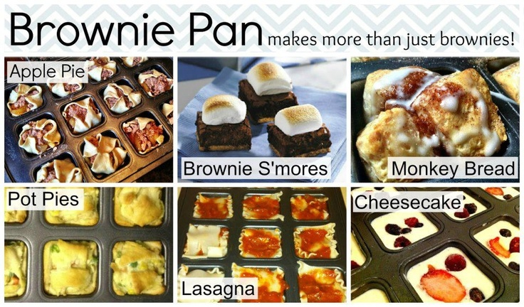 So many great ideas for the Pampered Chef brownie pan...just ask me. Contact me to order, or book your show, or even better, join my team!!  Lynsey Hust www.pamperedchef.biz/lynseyhust 7015001067