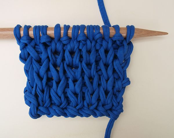 Comment tricoter le point anglais spécial