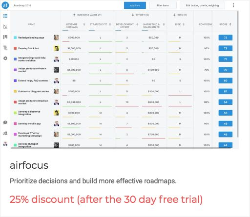 """Early birds, get the worm """"25% discount (after the 30 day free trial)"""" from @airfocusApp  Prioritize decisions and build more effective roadmaps. https://getworm.com/campaign/919?utm_medium=kuku&utm_campaign=polaroid&utm_source=pinterest #earlyadopters #lovethyuser #getworm"""