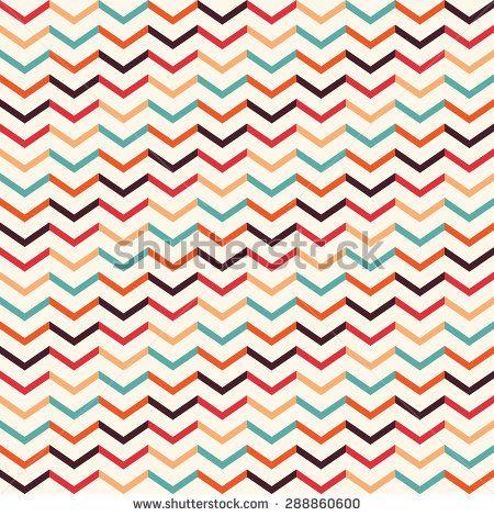 Vintage geometric pattern Seamless pattern with geometric motifs