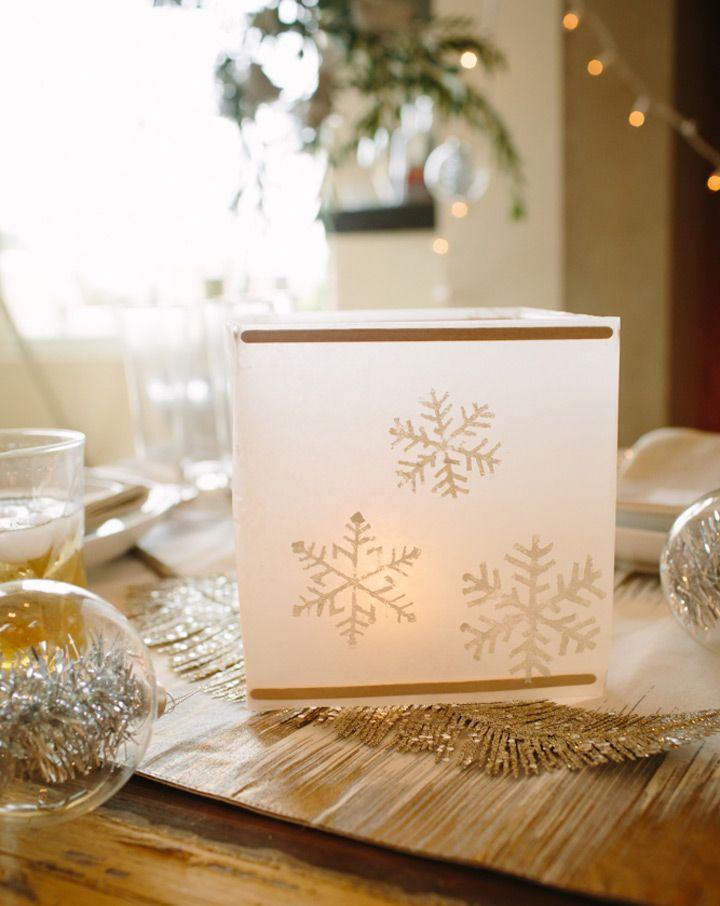 Best ideas about snowflake centerpieces on pinterest