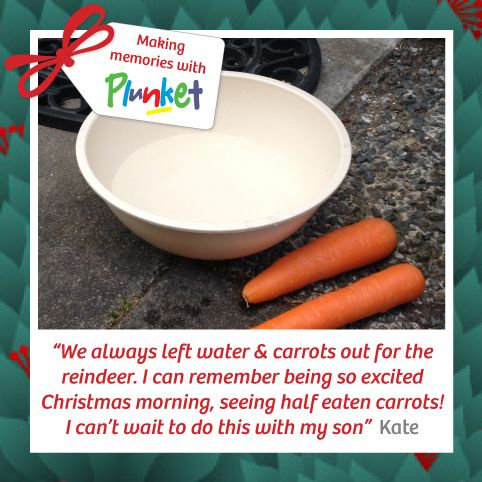 #16 Encourage your child's imagination and sense of wonder, Christmas is a magical time of year. #plunketadventcalendar