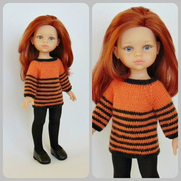 Paola Reina doll sweater doll clothes Corolle Les Cheries