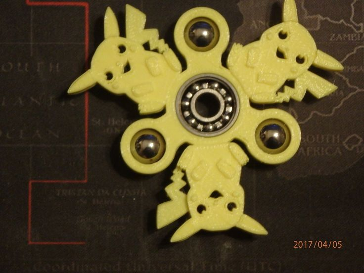 Pikachu Fidget Spinner - Wingnut2k by wingnut2k.